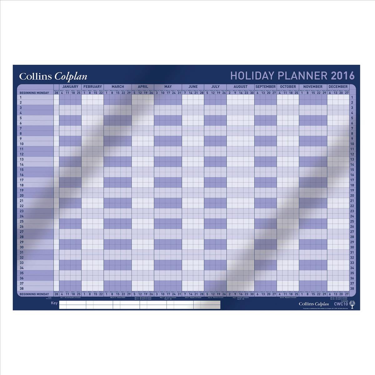 Collins 2016 Colplan HolidayPlnnr