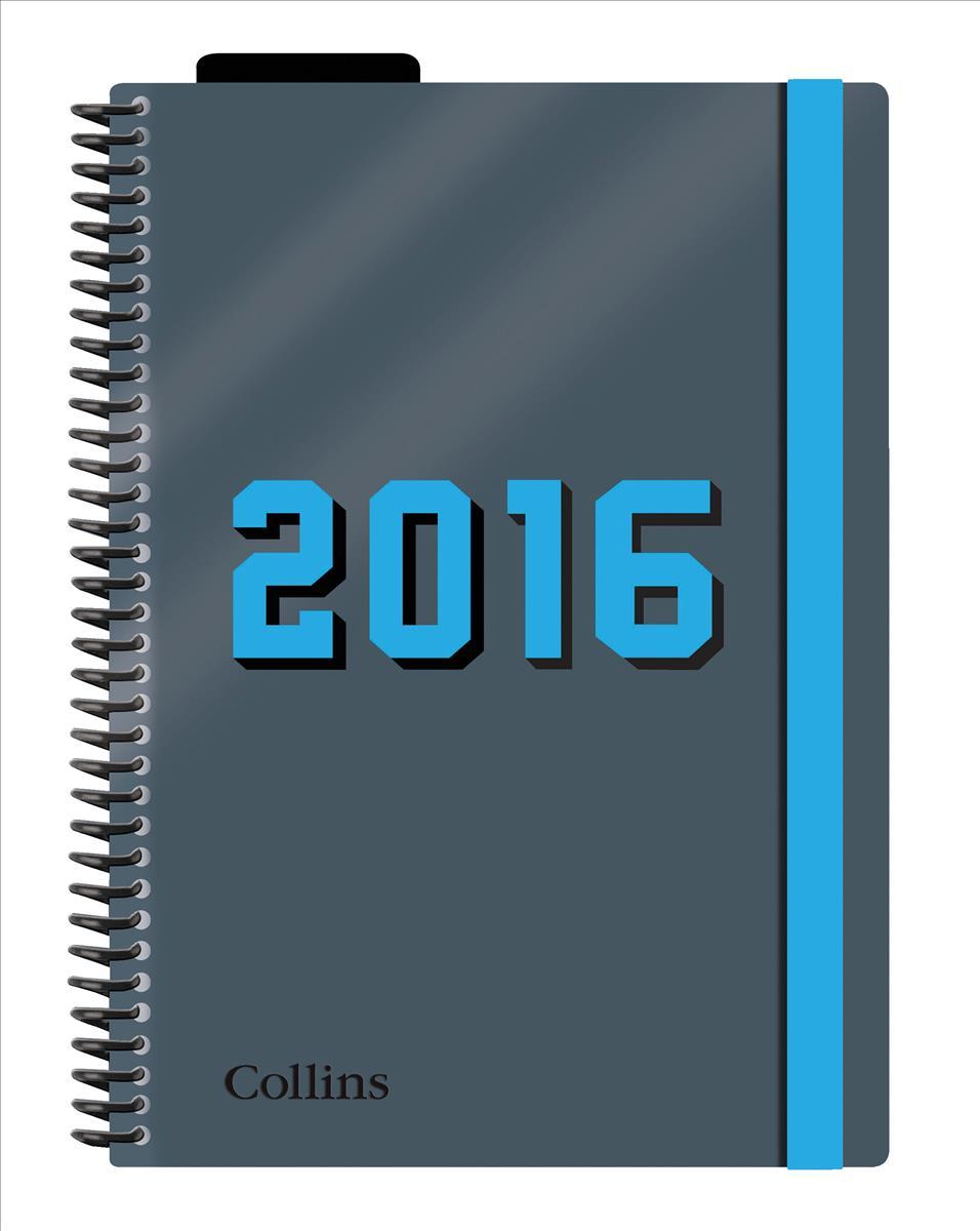 Collins 2016 Delta A5 DTP Diary Blue