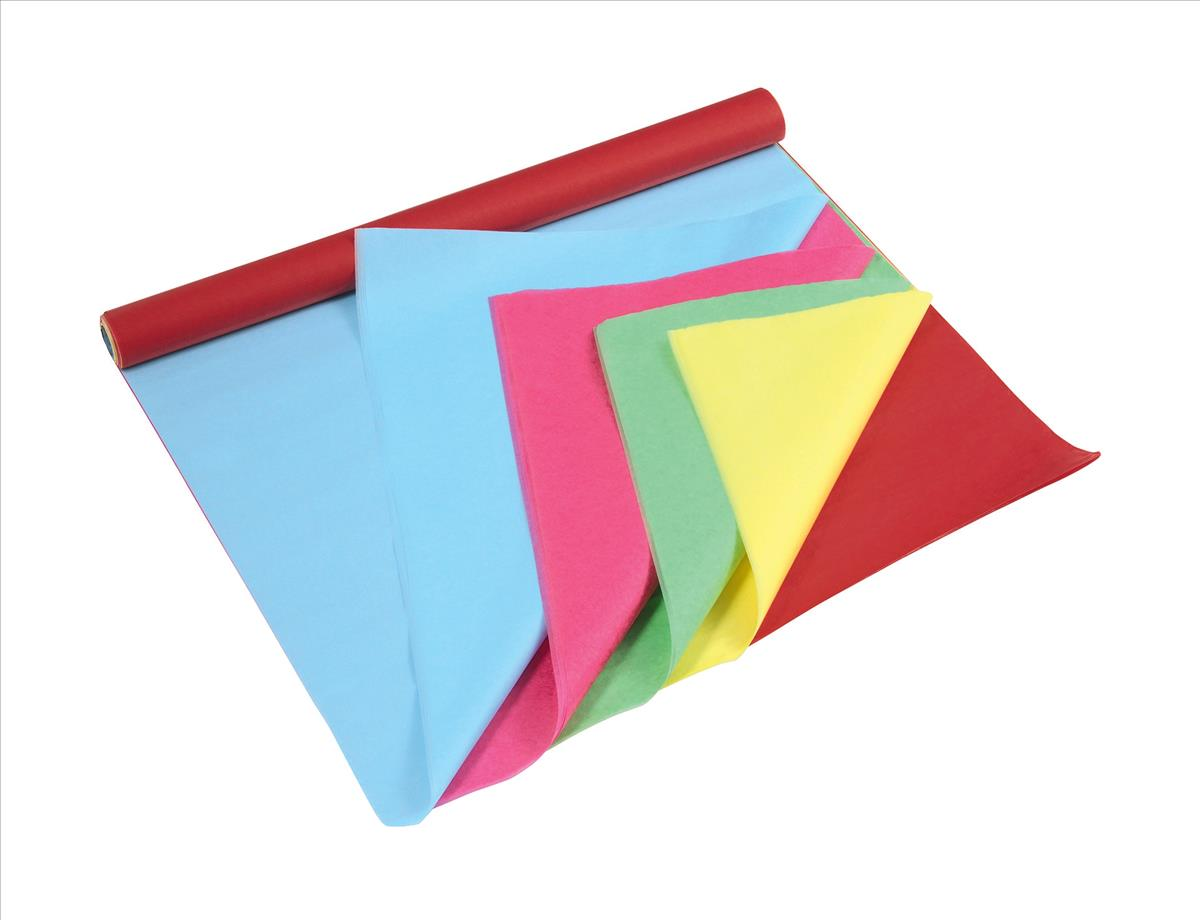 Rainbow Tissue Roll 25sh size 500x750mm