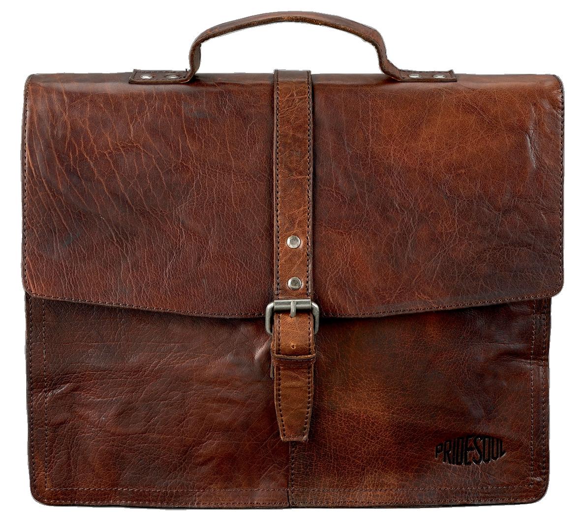 Pride&Soul Jayden Laptop Bag  Brn 47183