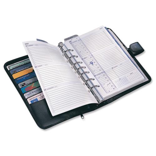 Collins Black Balmoral Desk Organiser (Pack of 1) DK4699