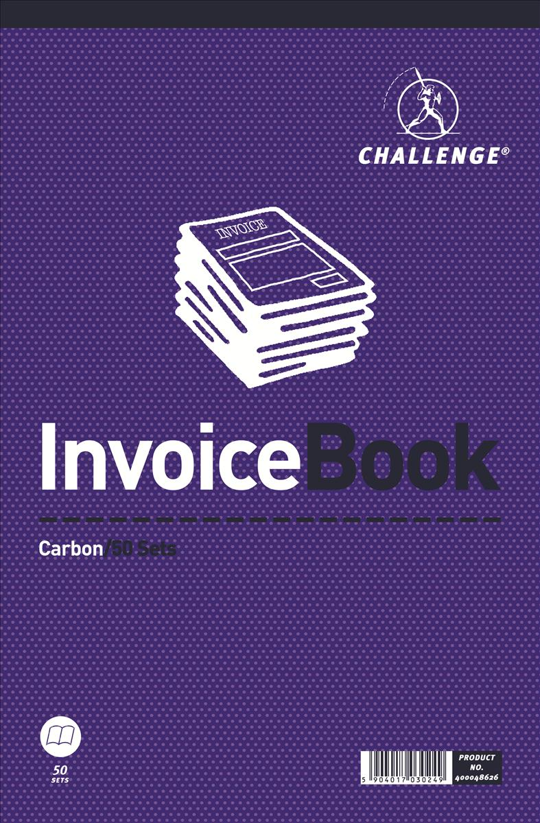 Image for Challenge 297x195mm Invoice without VAT