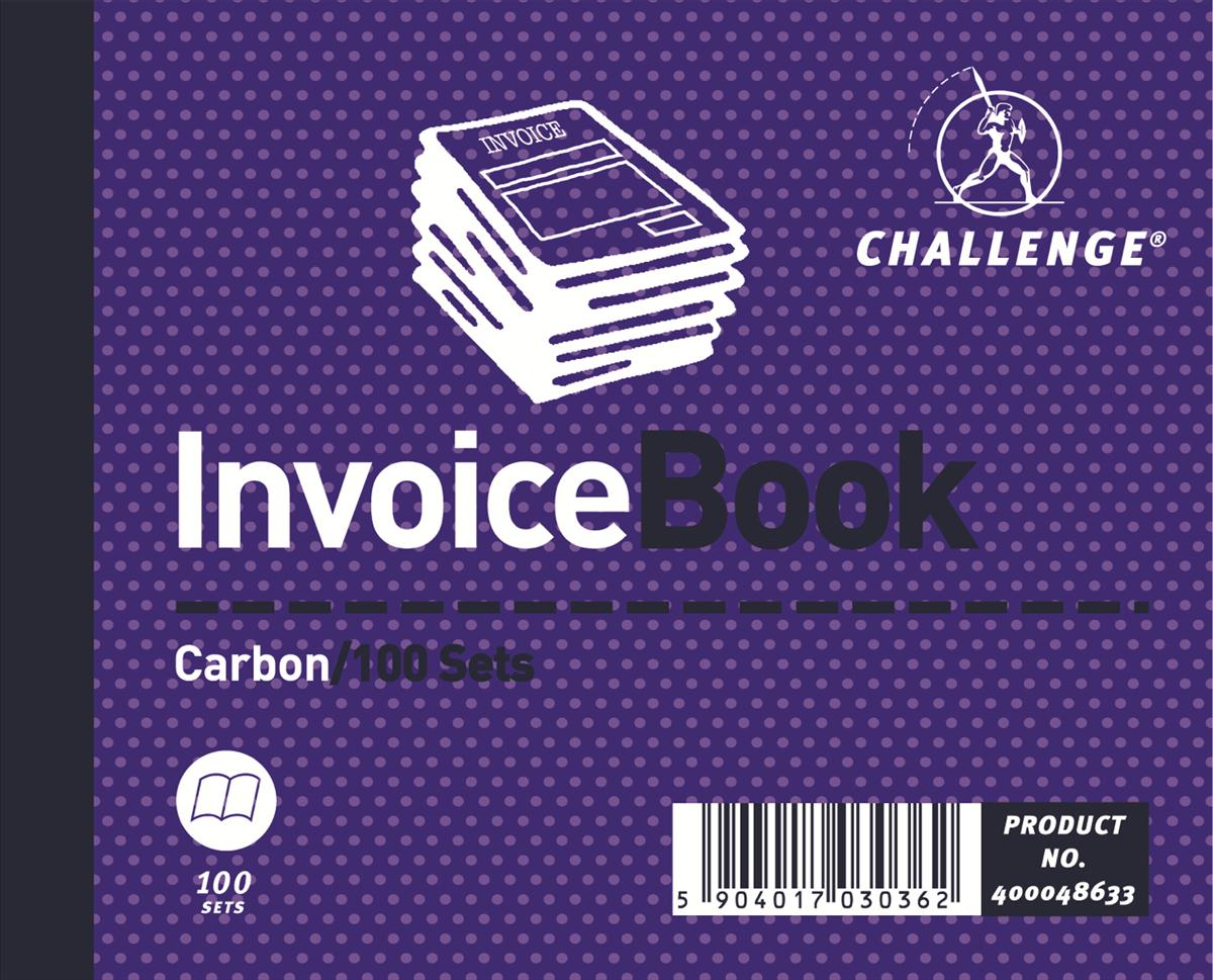 Image for Challenge 105x130mm Invoice
