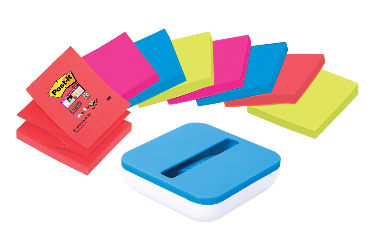 Post-it Value Z-Note Dispenser and One Pad 76x76mm