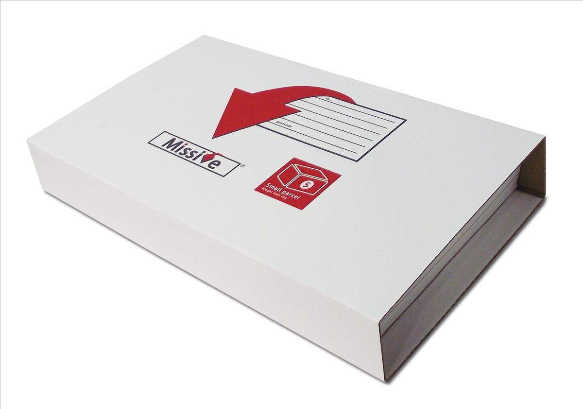 Missive Postal Box Small Parcel Tariff 350x260x70mm Maximum Ref MVBP3526 [Pack 10]
