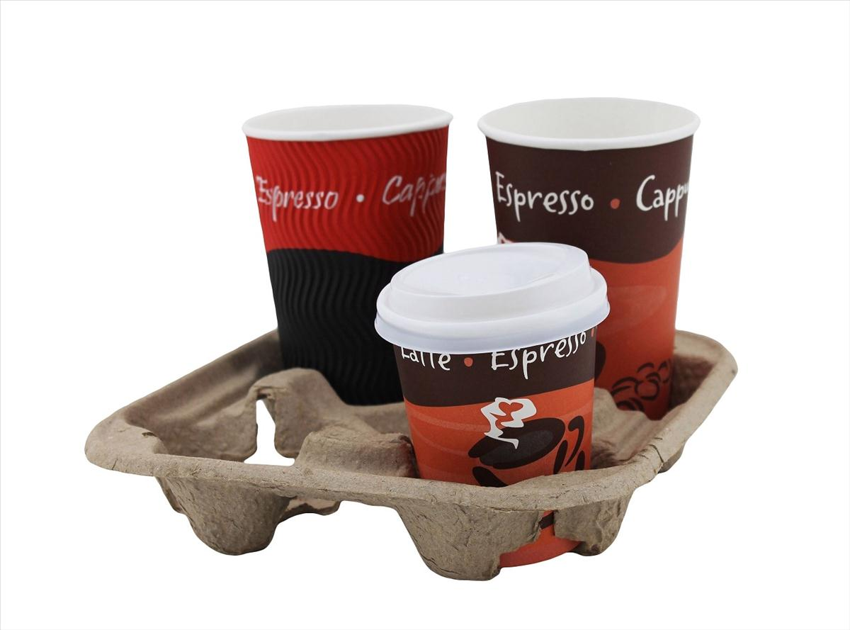 Caterpack 4 Slot Cup Holders Pack 75