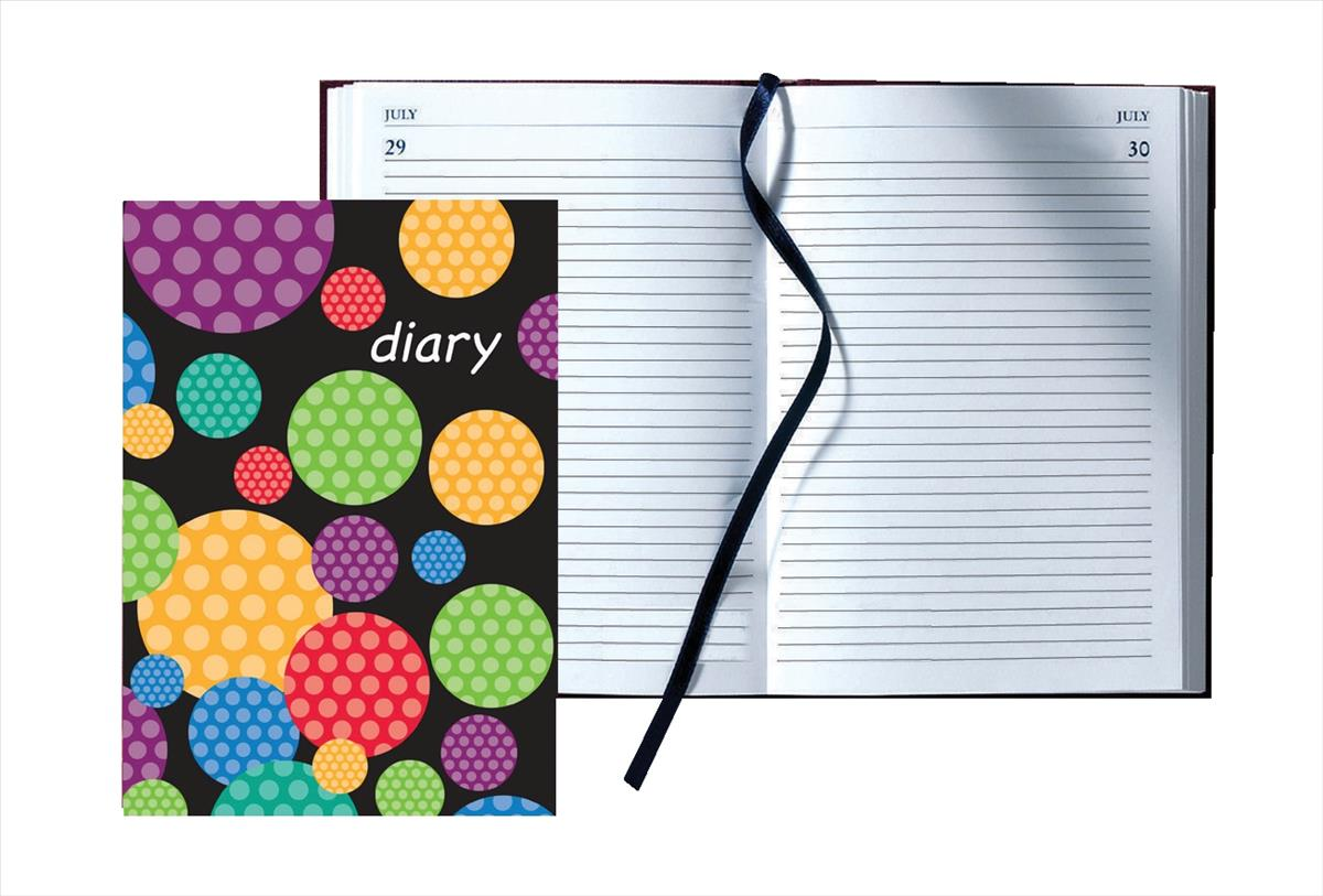 Collins A5 DTP Any Year Diary Circles56C