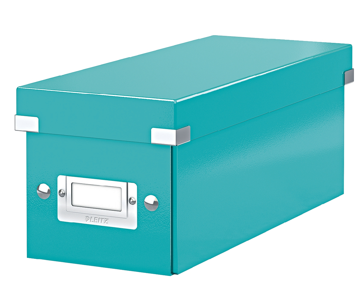 Leitz Click & Store CD/Media Storage Box Ice Blue