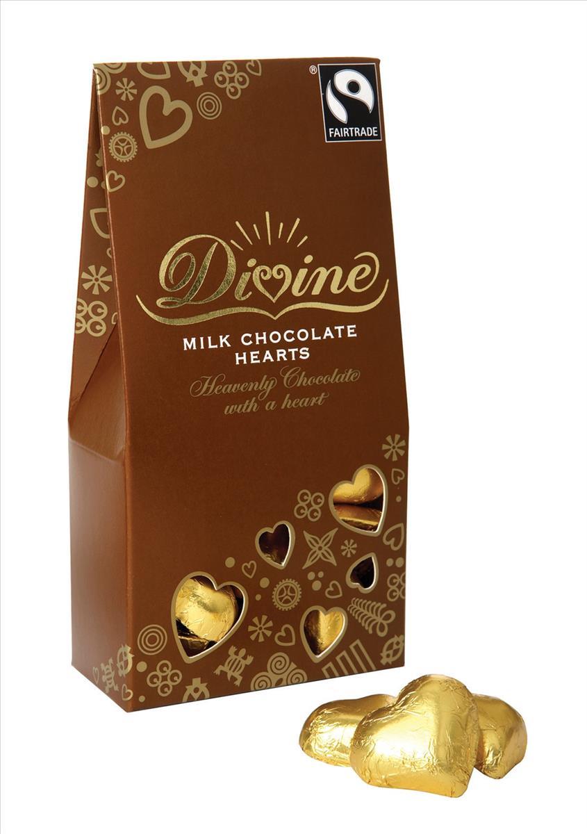 Divine Milk Chocolate Eggs Fairtrade