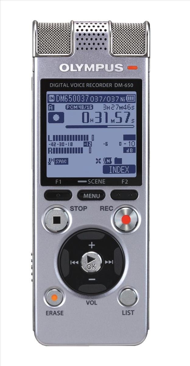 Image for Olympus DM-650 PCM Stereo Recorder