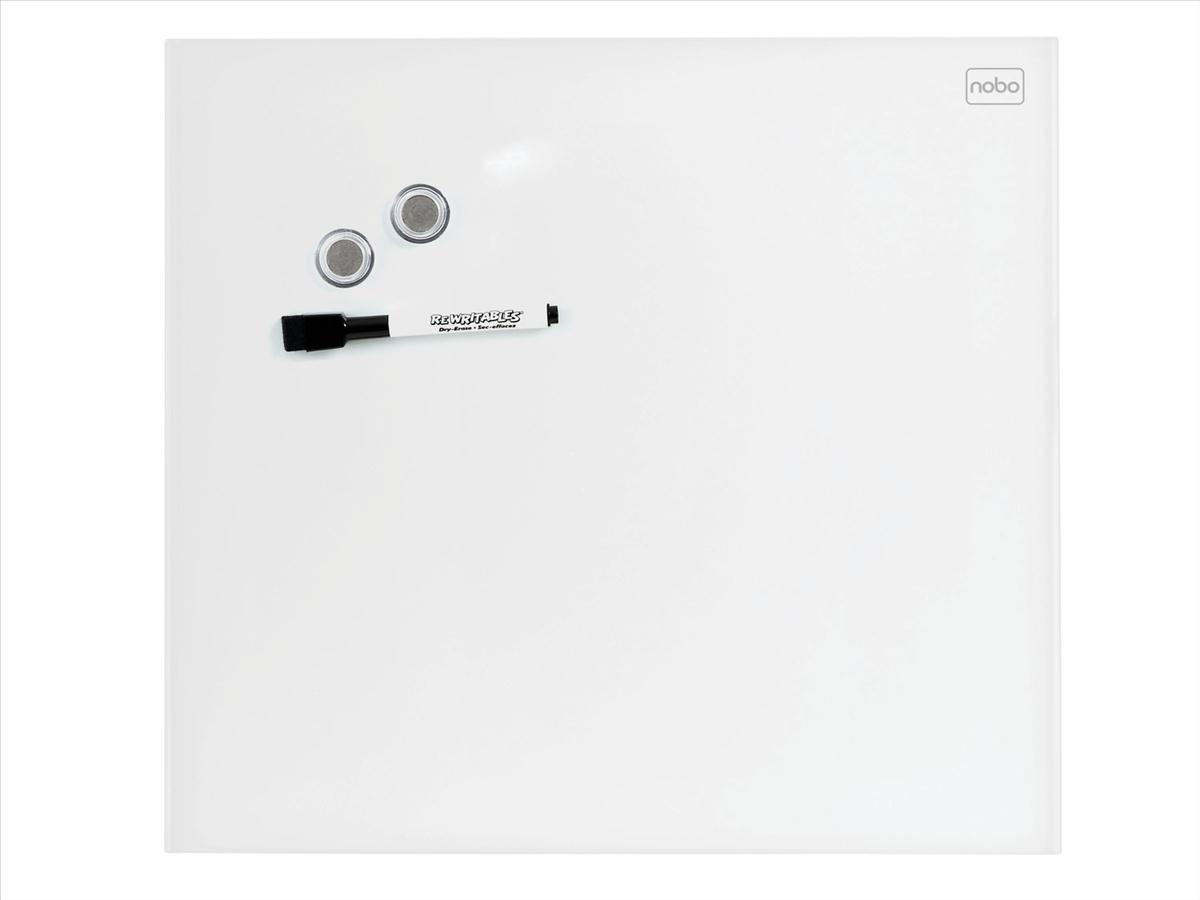 Nobo Diamond Drywipe Board Magnetic 300x300mm White