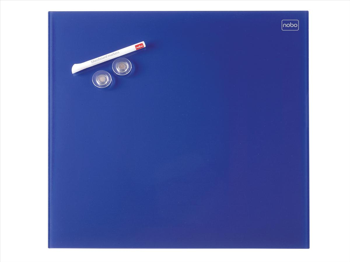 Nobo Diamond Drywipe Board Magnetic 450x450mm Blue