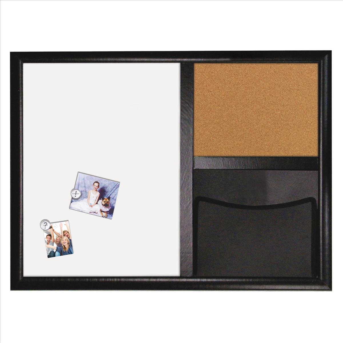 Quartet Dry Erase Combination Cork and Pocket Board 430x580mm