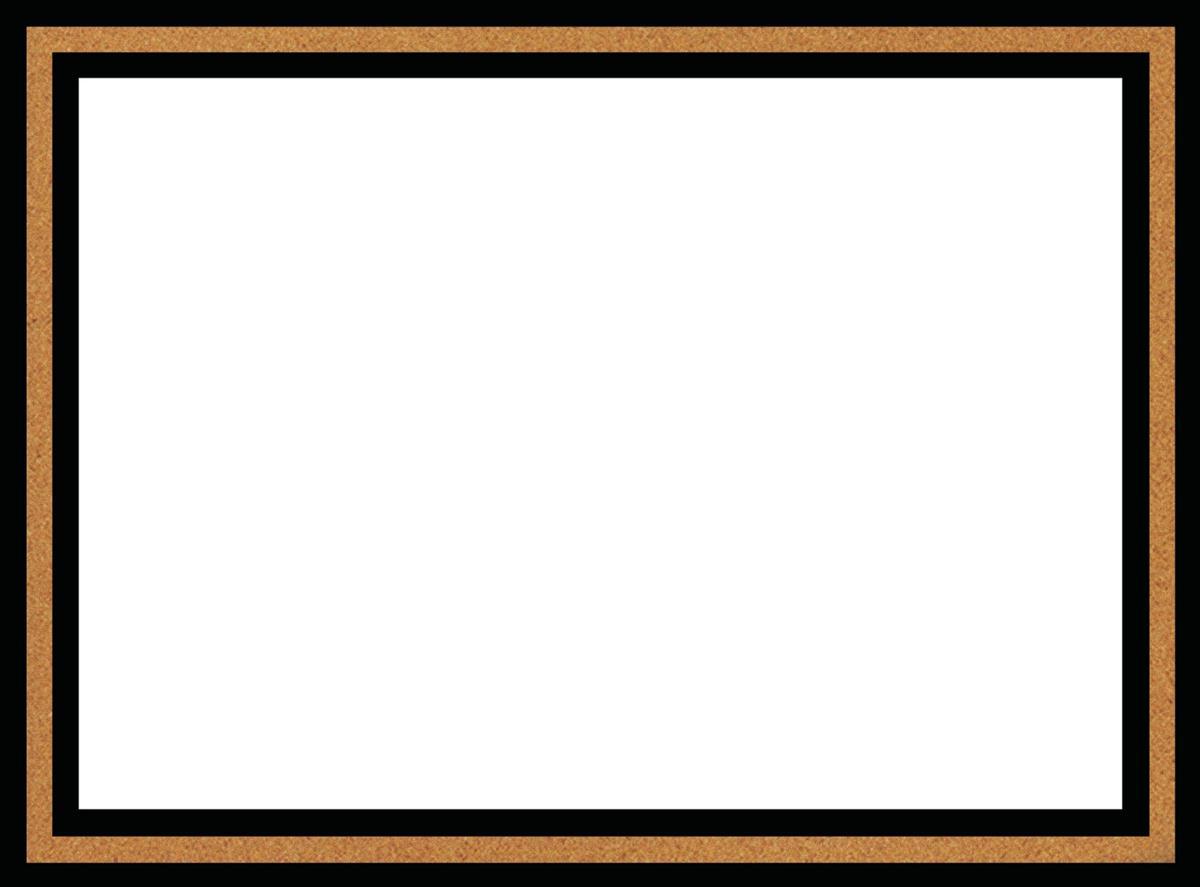 Quartet Magnetic Dry Erase Board Cork Frame 430x580mm