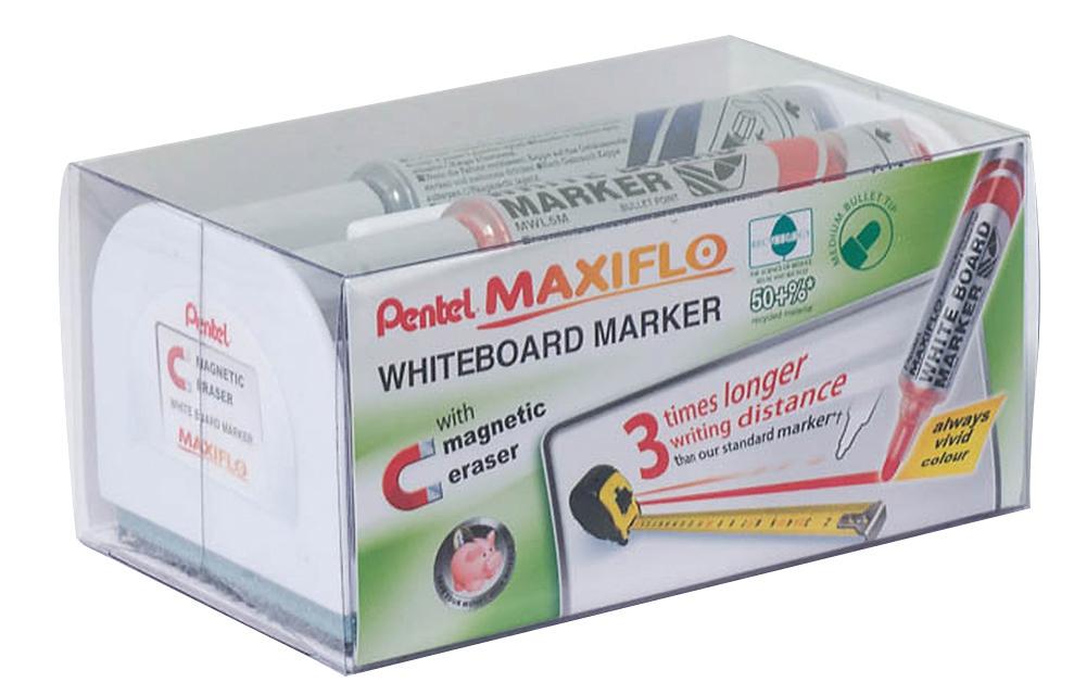 Pentel Maxiflo Med Bullet Magnetic Set