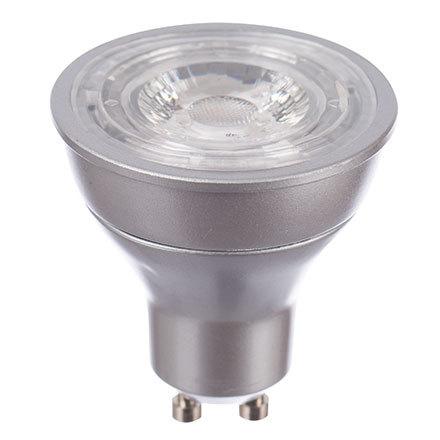 GE Bulb LED GU10 PAR Energy Smart 5.5Watt 400Lumens EEC A+ Dimmable CCT 3000K Clear Ref 84620