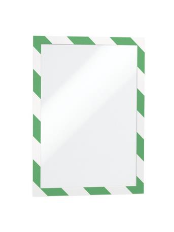 Duraframe Security A4 green/white pk2