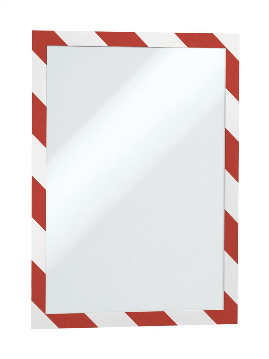 Duraframe Magnetic Sec A4 red/white pk5