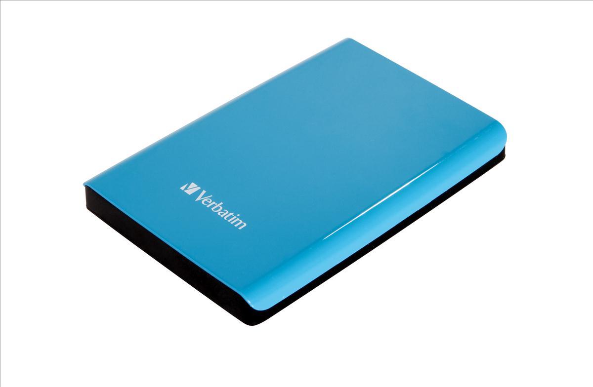 Verbatim Store & Go Hard Drive Blue 1TB