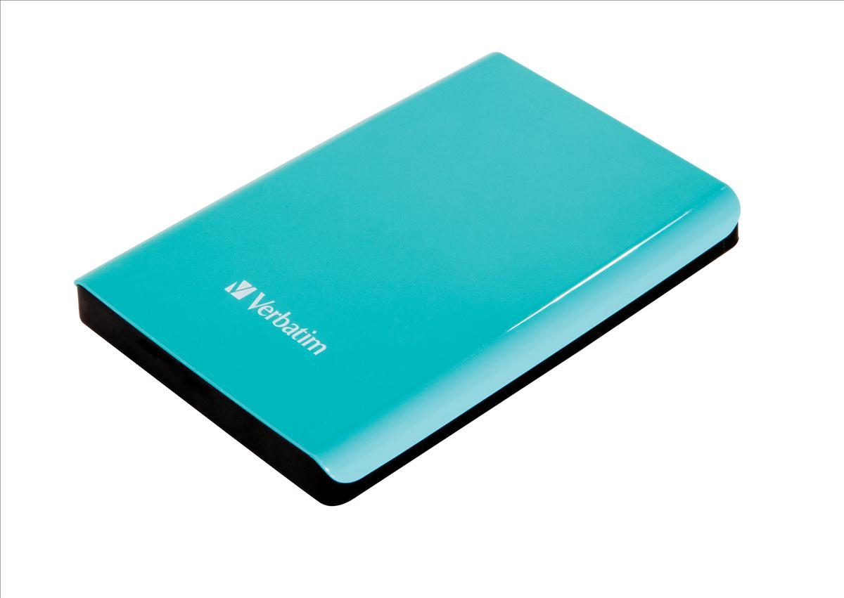Verbatim Store 'n' Go USB 3.0 Portable Hard Drive 1TB Silvertree Green 53174