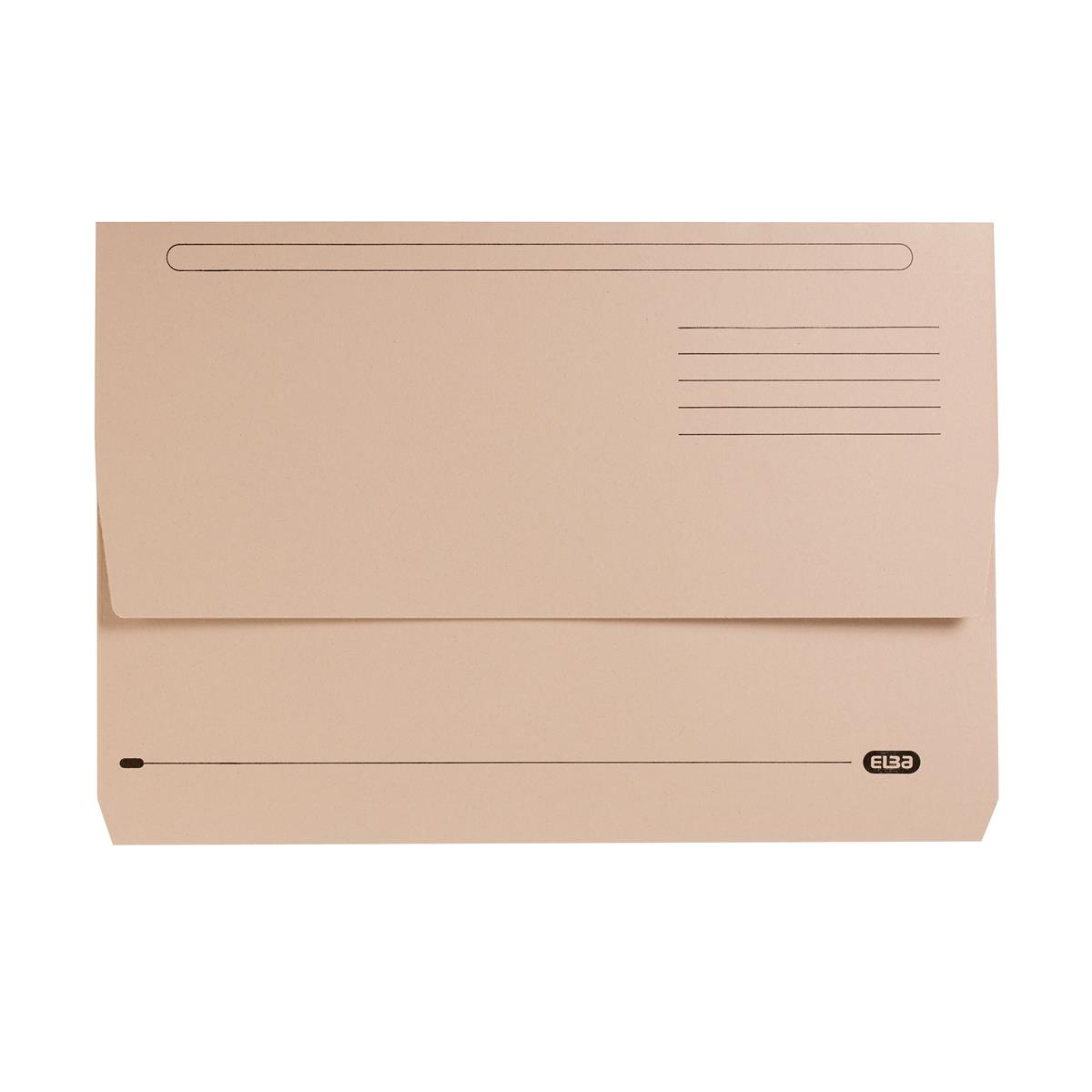 Elba StrongLine Document Wallet Buff Ref 400053600 [Pack 25]