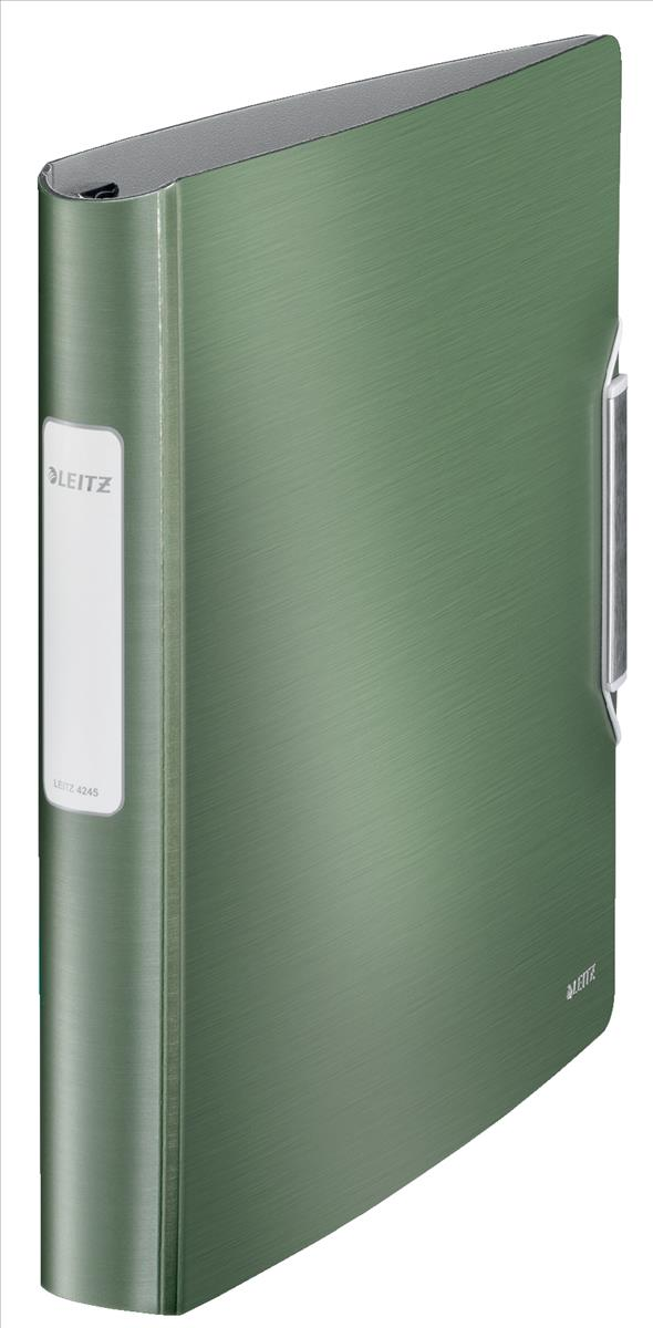 Leitz Active Style SoftClick Ring Binder A4 4 D-Ring 30mm Celadon Green