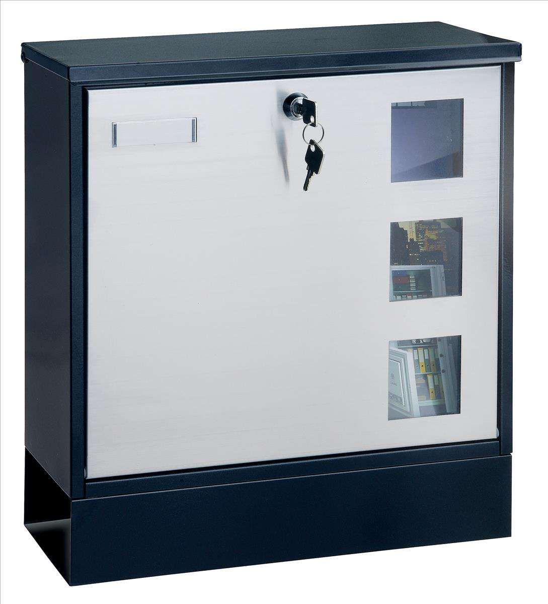 Rottner Design Mailbox Black T05535