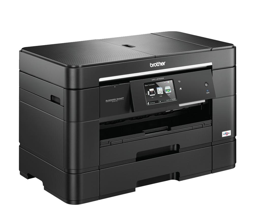 Brother MFC-J5720DW A3 Inkjet All-in-One Printer with Fax Duplex Wireless Extra Tray Black (Pack of 1) MFCJ5720DWZU1