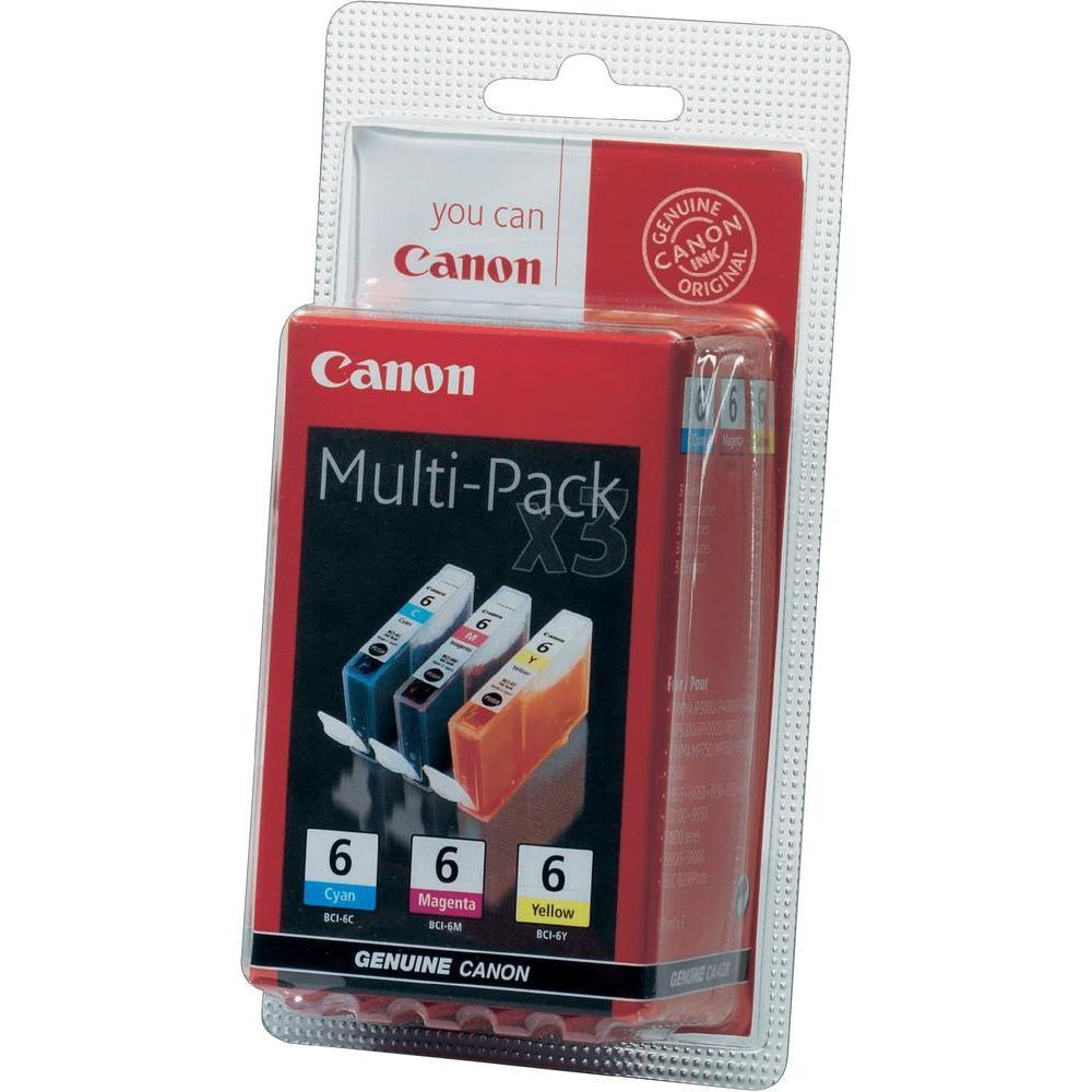 Canon BCI-6 CMY Multipack IJ Cartridges