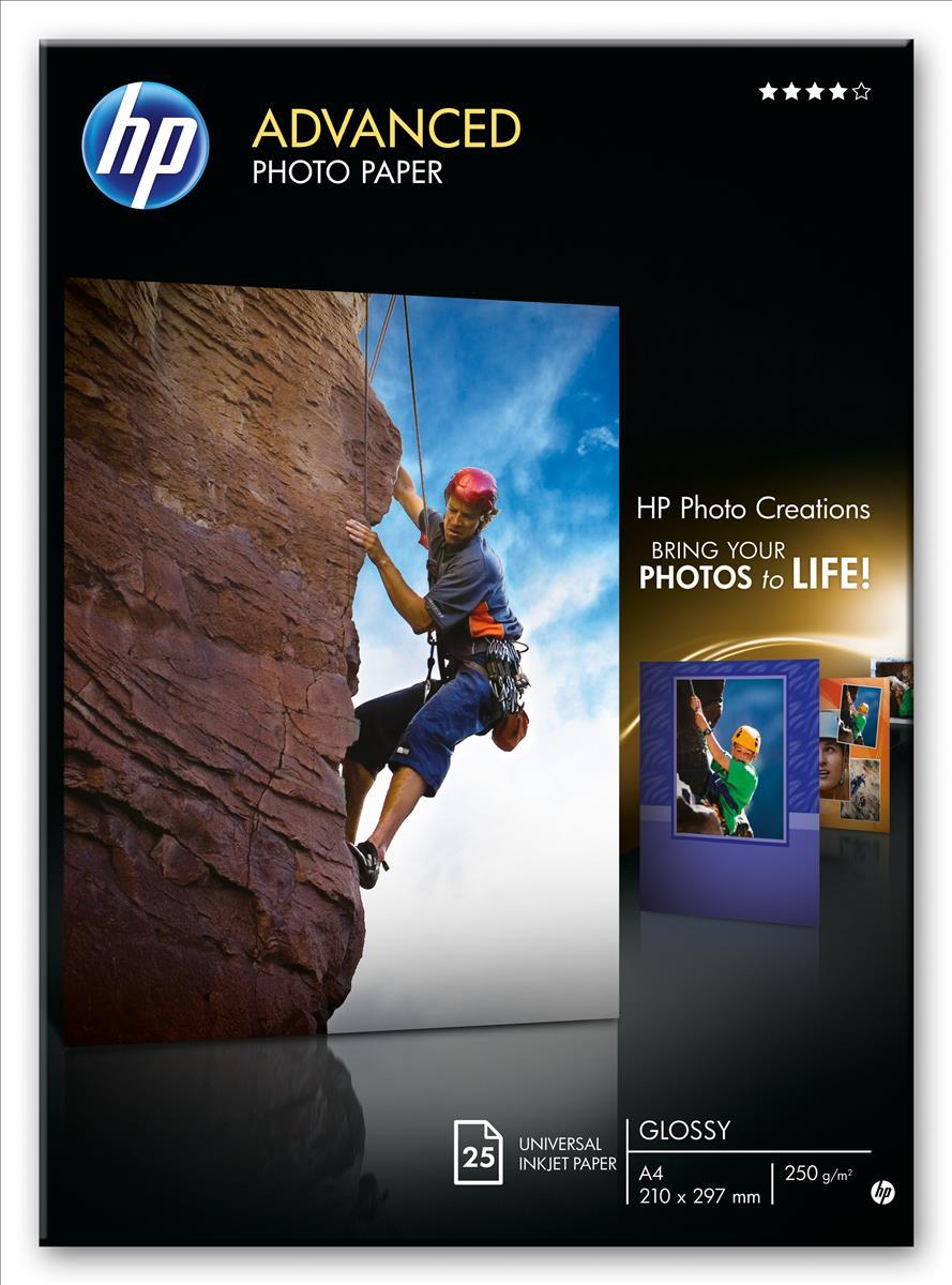 HP Advanced Glsy Phto 13X18 25 Q8696A