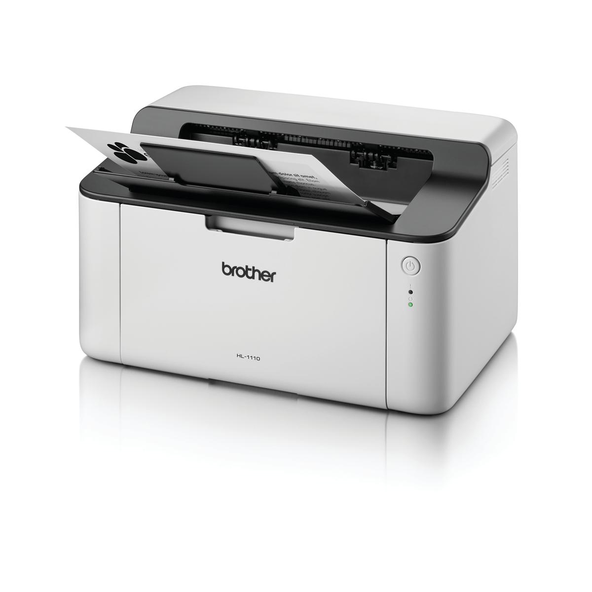 Brother HL-1110 Mono A4 Laser Printer Ref HL1110ZU1