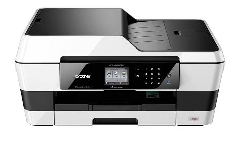 Brother MFC-J6520DW A3 Inkjet All-in-One Printer with Fax Duplex Wireless White (Pack of 1) MFCJ6520DW