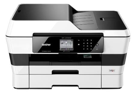 Brother MFC-J6720DW A3 Inkjet All-in-One Printer with Fax Duplex Wireless Extra Tray White (Pack of 1) MFCJ6720DW