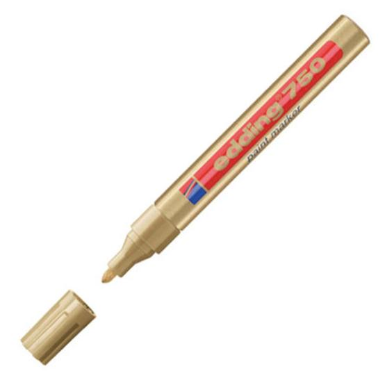 Edding 750 Paintmarker 2-4mm Bullet Gold
