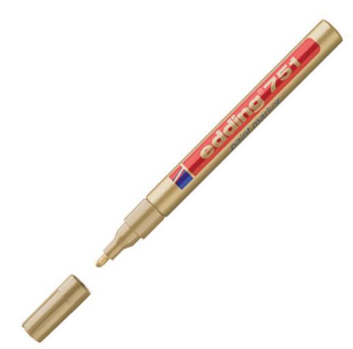 Edding 751 Paintmarker 1-2mm Bullet Gold