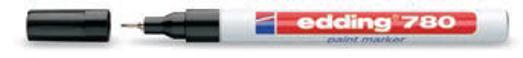 Edding 780 Paintmarker 0.8mm Bullet Blk