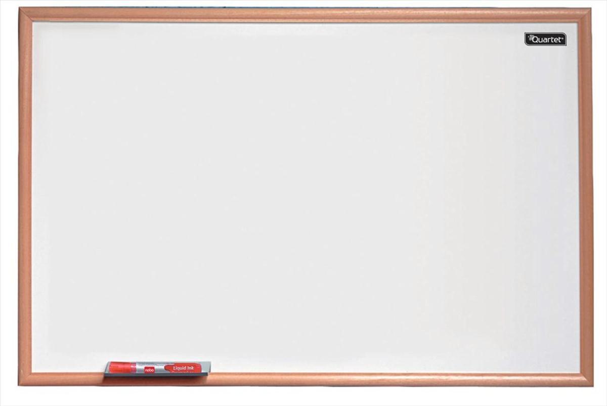 Quartet Dry Wipe Board Pine Frame 600x400mm