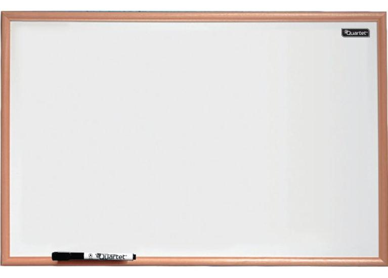 Quartet Dry Wipe Board Pine Frame 900x600mm