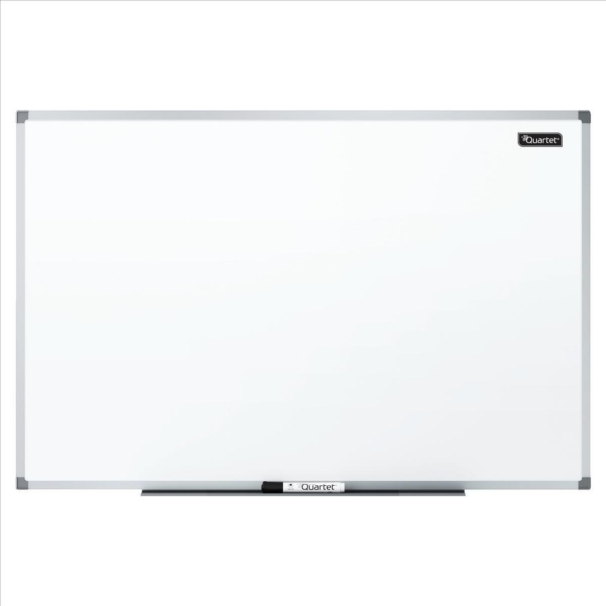 Quartet Dry Wipe Magnetic Board Aluminium Trim 1200x900mm