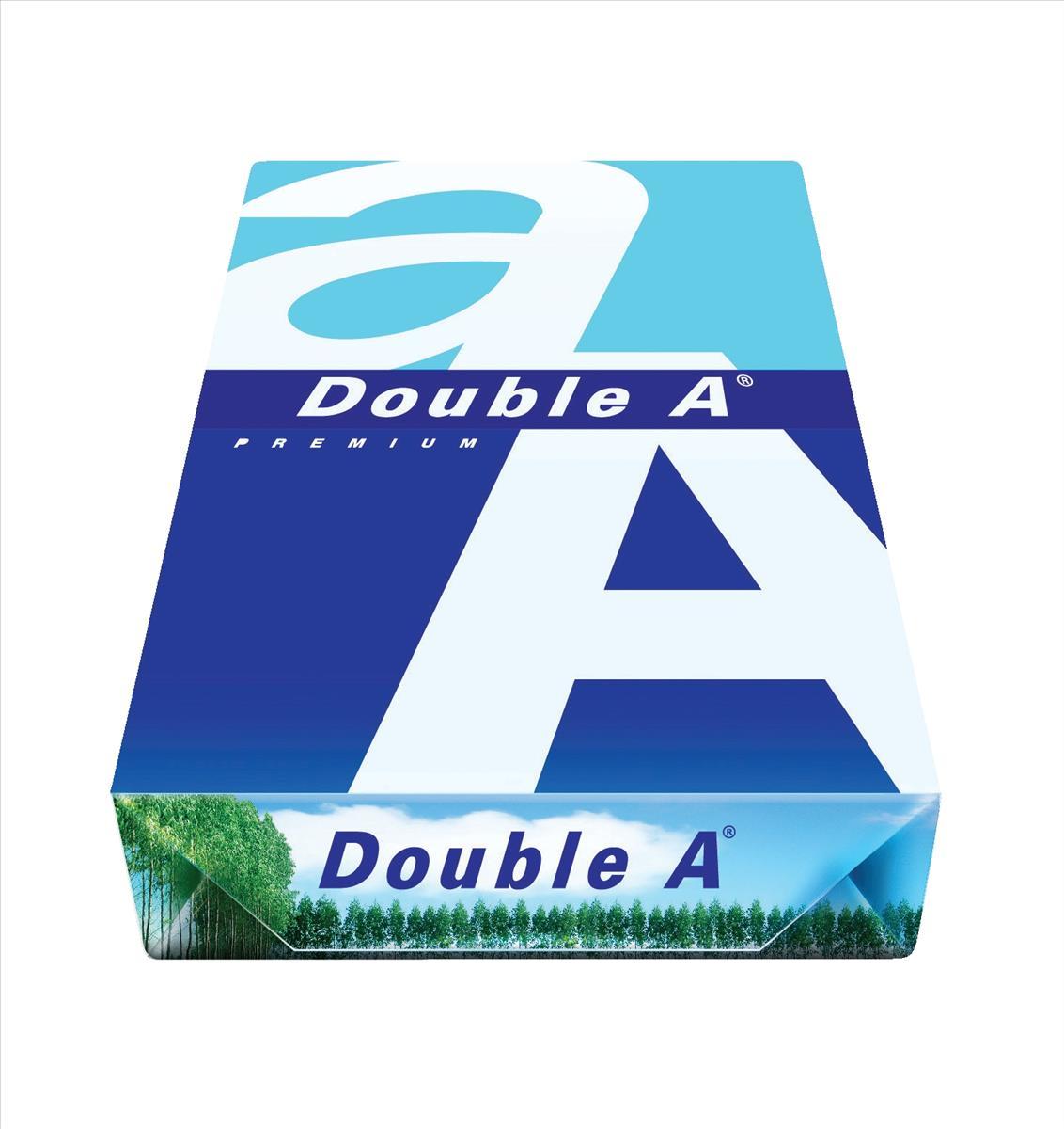 Double A Premium A4 80gsm Copier Paper Nonstop Box (Pack of 2500) DA80A4CLEV