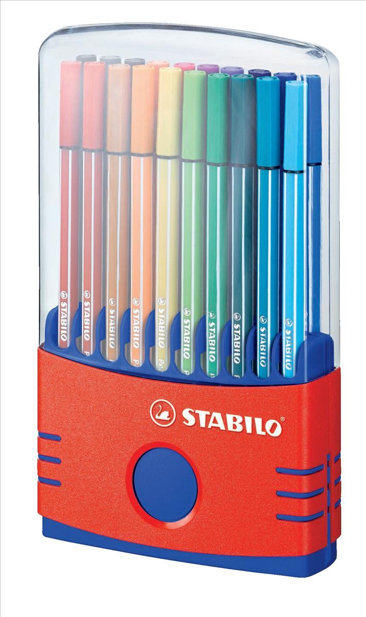 Stabilo Pen 68 Color Parade Ast Pk20