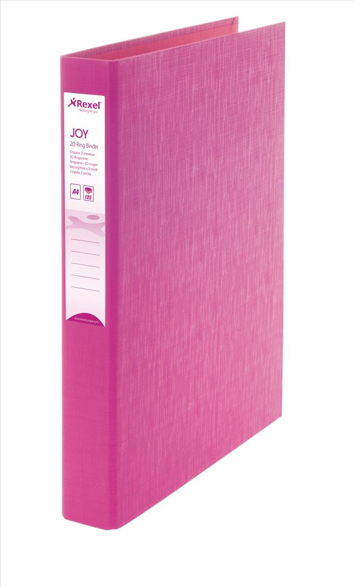 Rexel JOY Ring Binder Pink &Pens Oct3/15