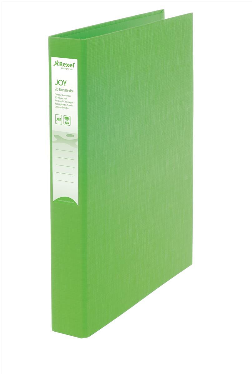 Rexel JOY Ring Binder Lime &Pens Oct3/15