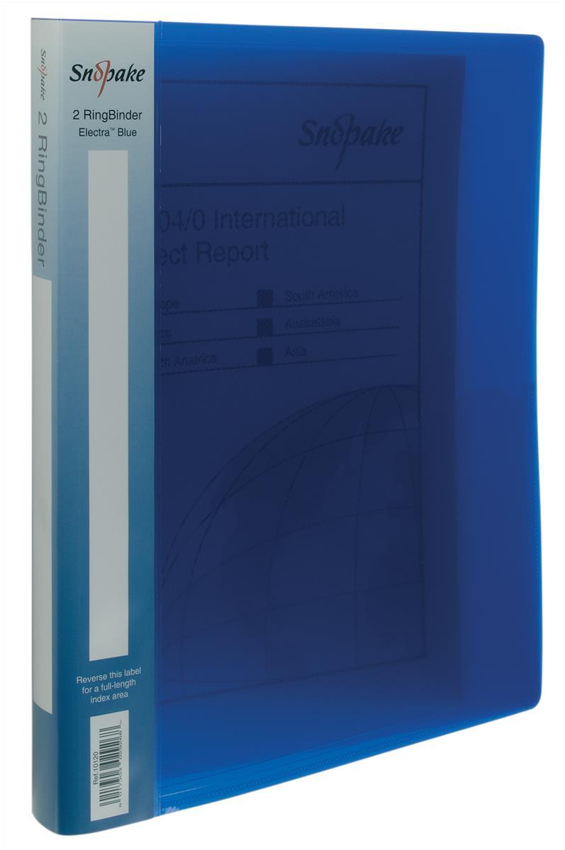Snopake Ringbinder A5 2/15 Electra Blue