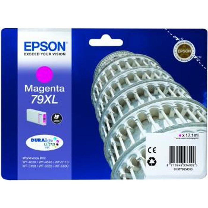 Epson 79XL Mag Ink Cart C13T79034010