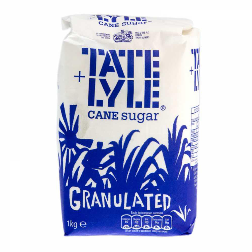 Tate & Lyle Granulated Sugar 1kg Bag