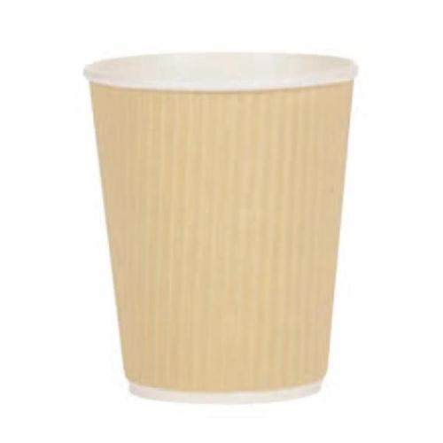 Ripple Cups 12oz 35cl  Brown [Pack 500] Ref 4028236