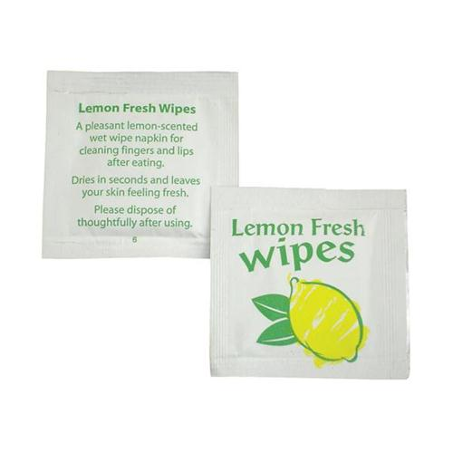 Handy Freshner Lemon Wipe Pk000