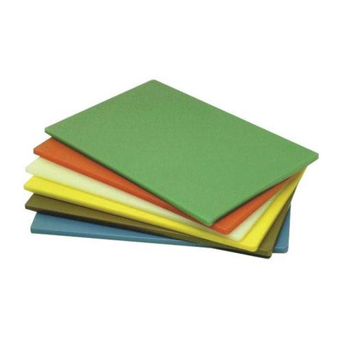Chopping Board Large 18x12x0.5in Green