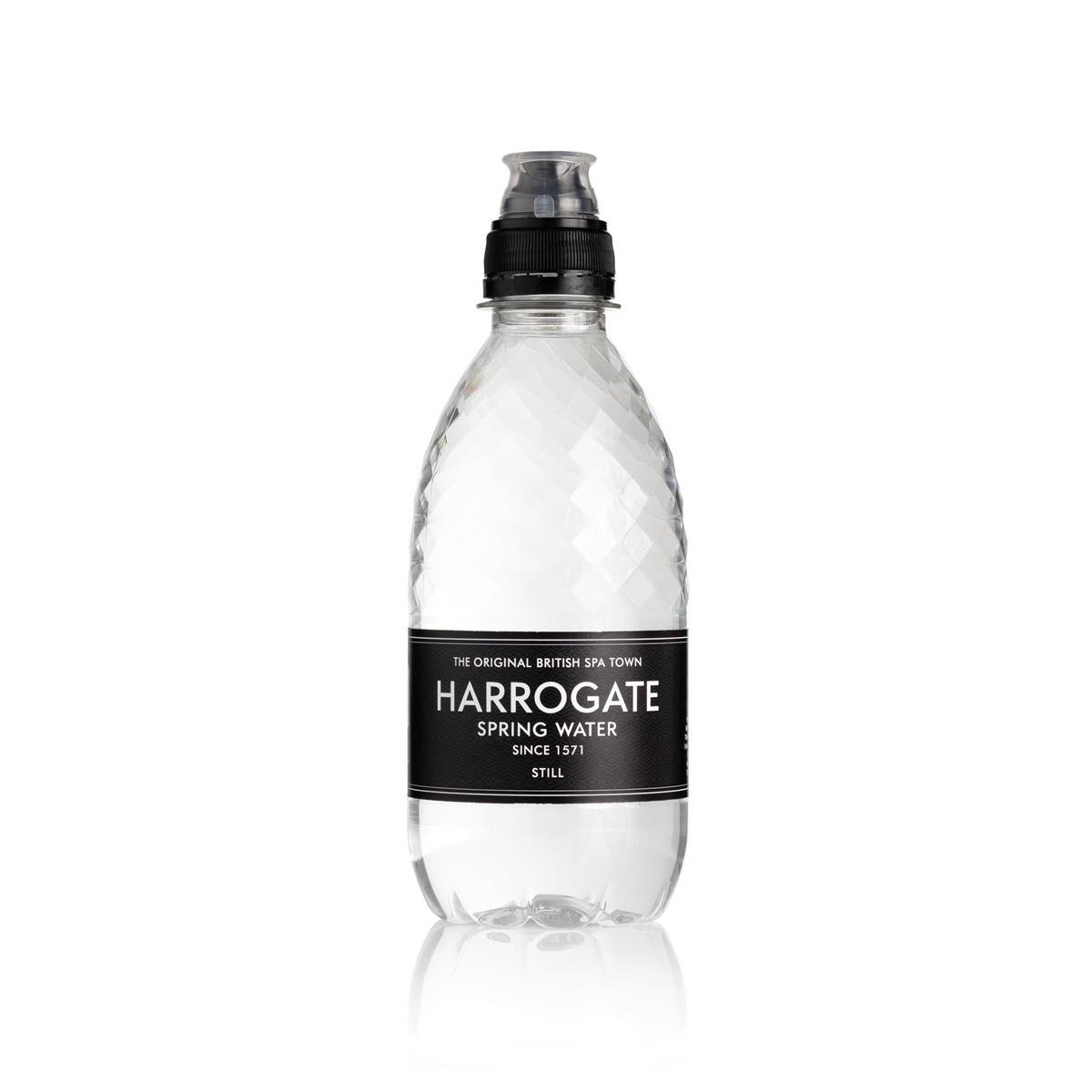 Harrogate Still Water Sport Cap Plastic Bottle 330ml Ref P330303SC [Pack 30]